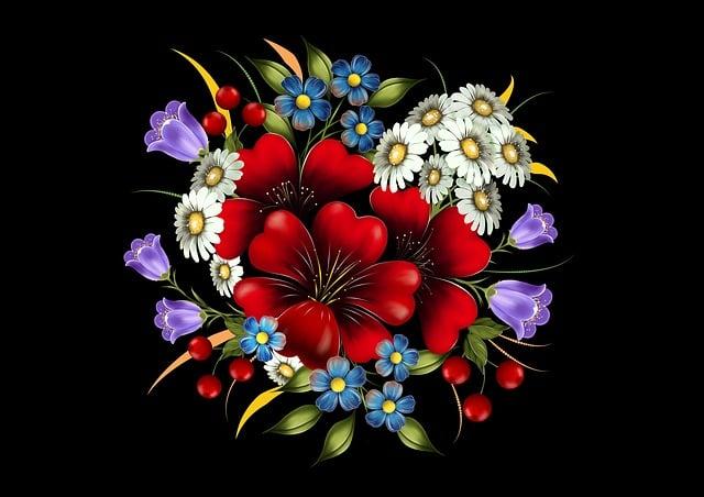 Flower, Decoration, Bouquet Of Flowers, Color, Flora