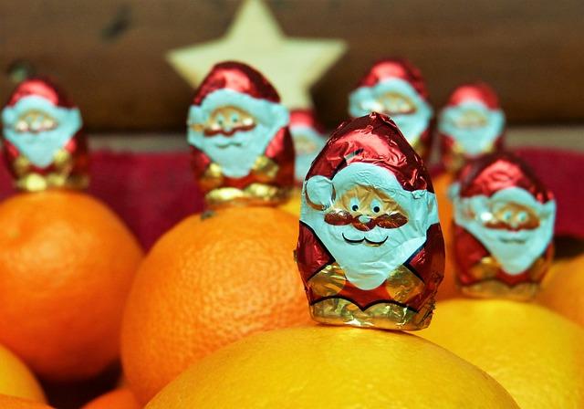 Nicholas, Chocolate, Decoration, Advent, December