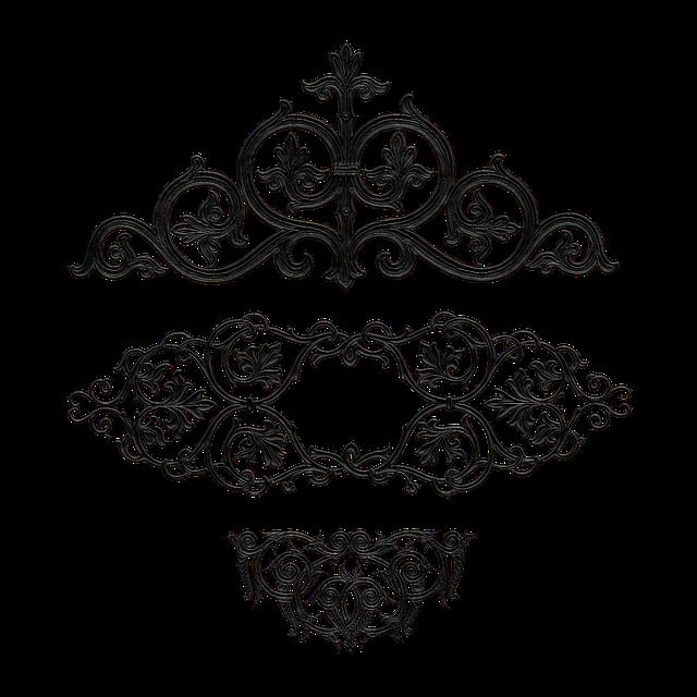 Decorative, Decoration, Design, Wrought Iron, Elements