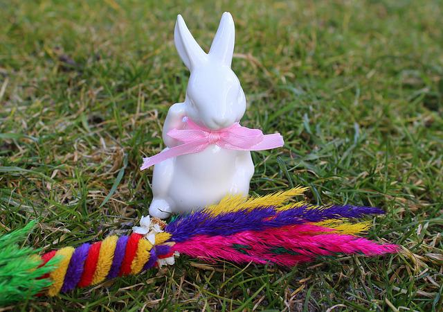 Hare, Easter Palm, The Figurine, Ornament, Decoration