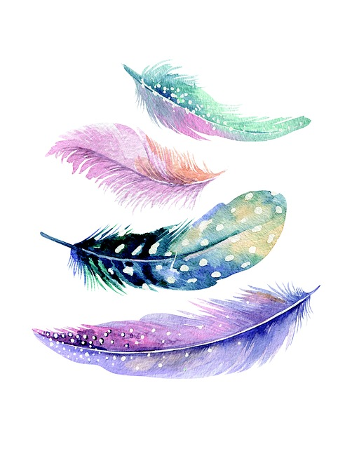 Feather, Wall Art, Decoration