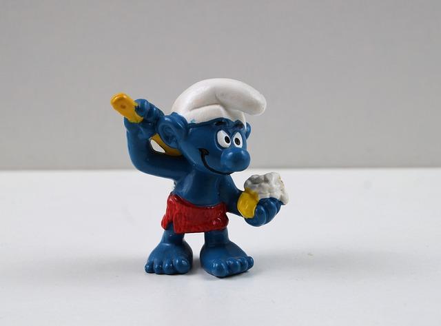 Smurf, Smurfs, Bath Sahib, Figure, Toys, Decoration