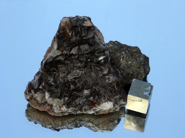 Gems, Pyrite, Decoration, Mineral, Geology