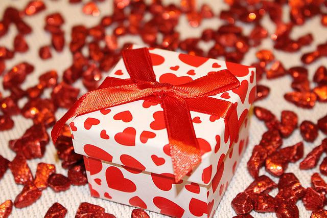 Loop, Gift, Packaging, Decoration, Red