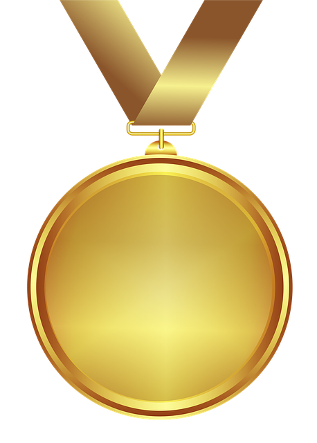 Medal, Gold, Design, Transparent Background, Decoration