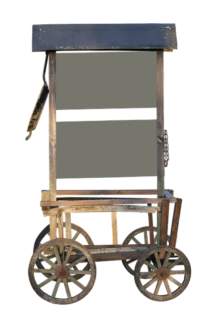 Stroller, Handcart, Isolated, Decoration, Father's Day