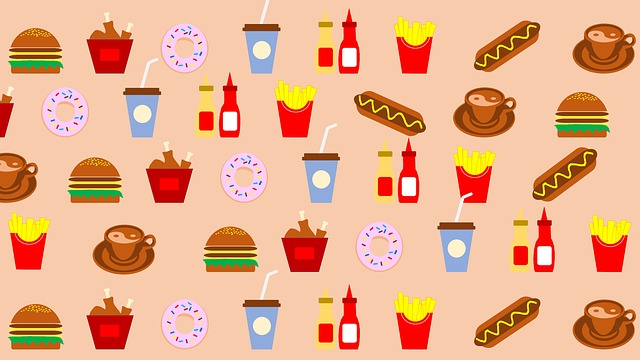 Food, Restaurant, Beverage, Meal, Fries, Decoration