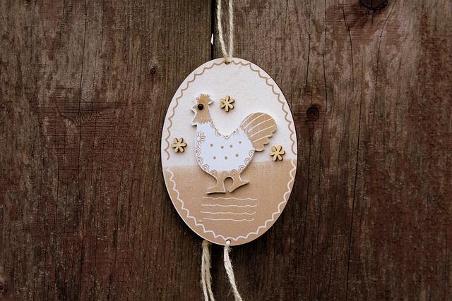 Pendant, Decoration, Ornament, Easter Decorations