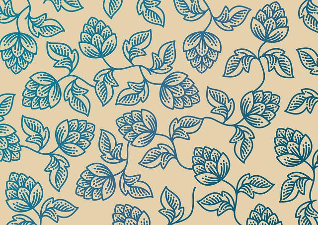 Hop, Foliage, Pattern, Flower, Plants, Decoration