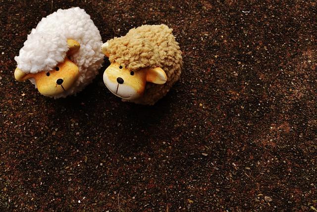 Sheep, Animals, Deco, Ceramic, Decoration, Funny, Cute