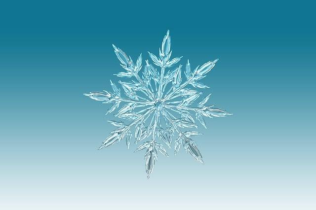Snowflake, Ice Crystal, Winter, Snow, Decoration
