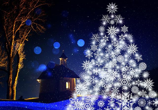 Christmas, Snowflakes, Decoration, Decor