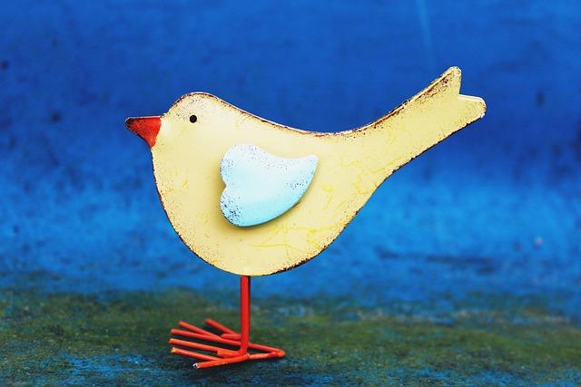 Bird, Spring, Deco, Decorative, Decoration