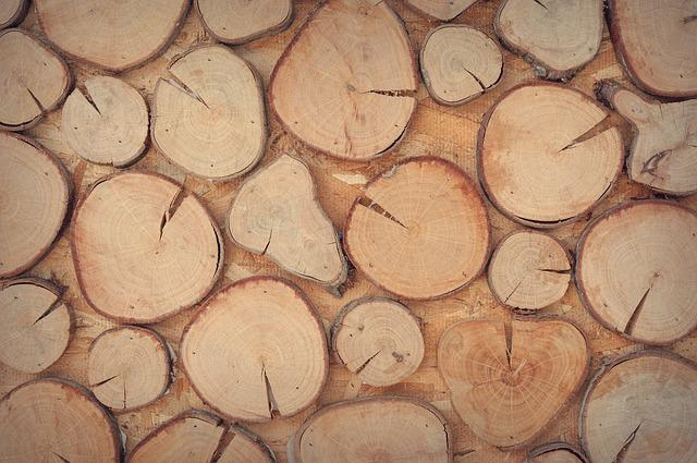 Wood, Logs, Wooden, Wall, Decoration, Design, Surface