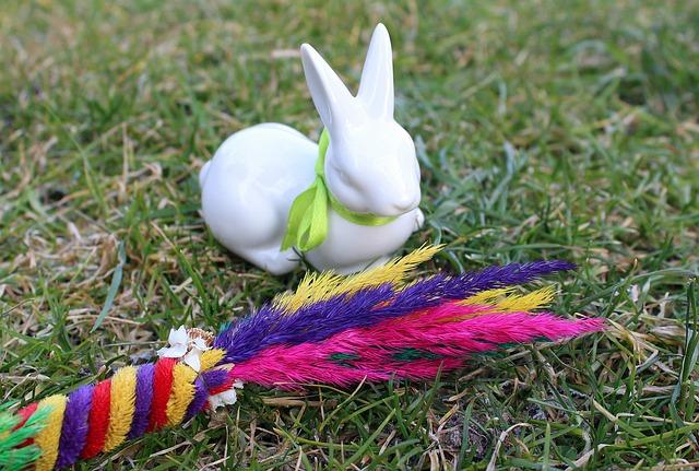 Hare, Bunny, The Figurine, Porcelain, Palma, Decoration
