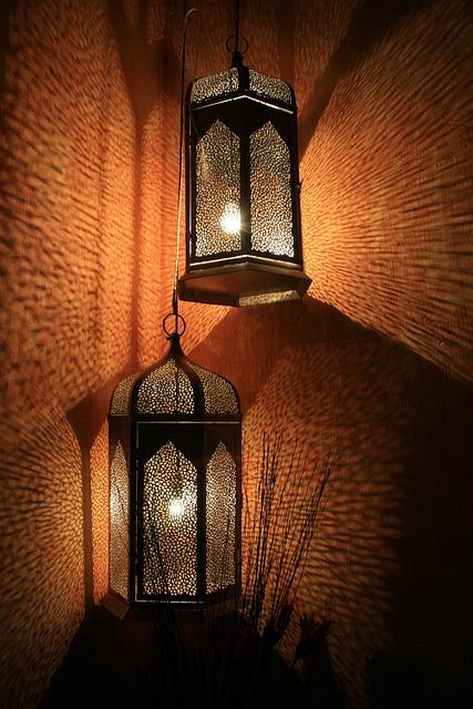 Lanterns, Lamps, Decorative, Diffused Light