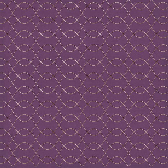 Digital Paper, Background, Purple And Gold, Decorative