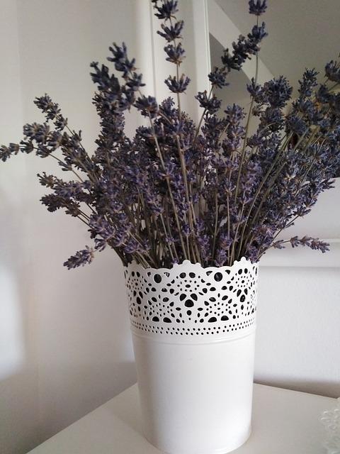 Decorative Interior Flowers Lavender Decoration - Max Pixel