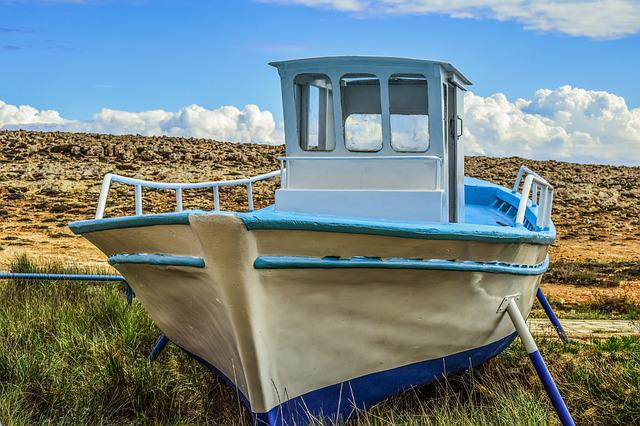 Boat, Grounded, Decorative, Traditional, Tradition