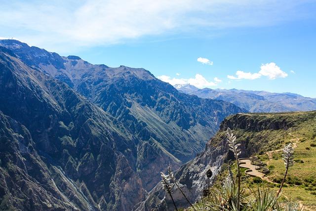 Colca Canyon, Deep, Abyss, Canyon, Panorama