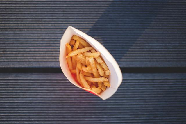 Close-up, Deep Fried, Food, French Fries, Fries, Lunch
