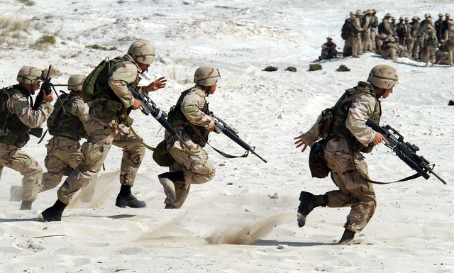 Soldiers, Military, Usa, Weapons, War, Fight, Defense
