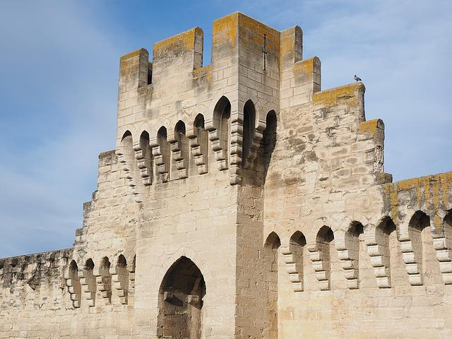 Defensive Tower, Tower, Battlements, Defense, Ornament