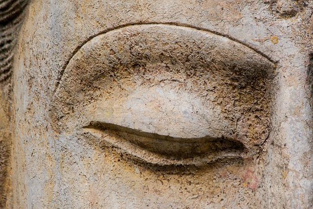 Eye, Art, Asia, Buddha, Sculpture, Figure, Deity