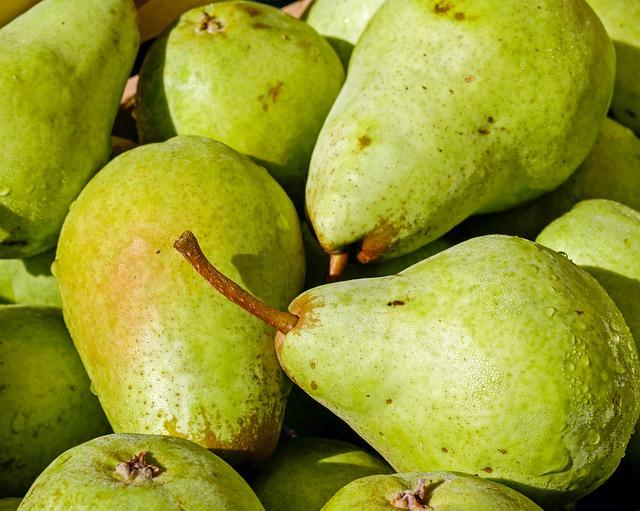 Pears, Fruit, Bio, Left Untreated, Ripe, Delicious