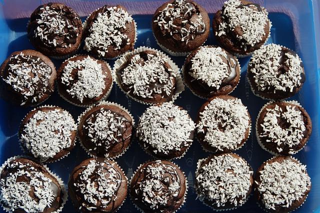 Muffins, Schokomuffins, Delicious, Confectionery