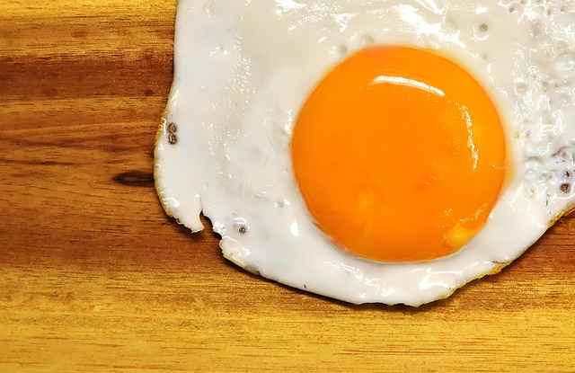 Fried, Egg Yolk, Protein, Eat, Food, Delicious, Yolk
