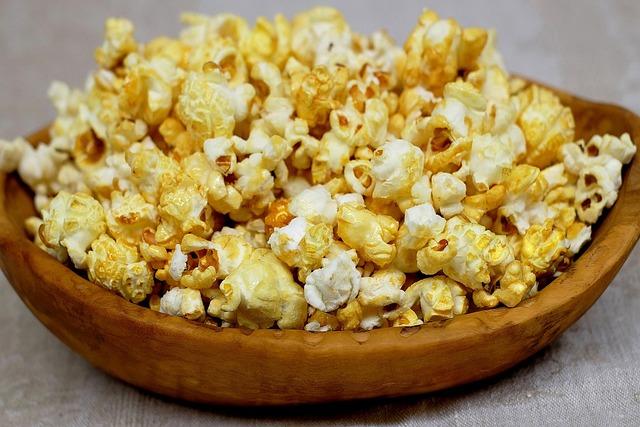 Popcorn, Corn, Sweet, Knabberzeug, Delicious