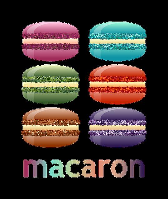 Dessert, Macaron, Food, Snack, Delicious