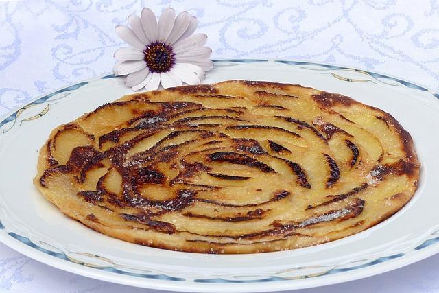 Apple Pancakes, Pancake, Food, Sugar, Delicious