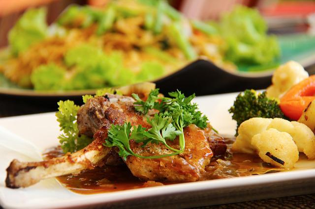 Resort, Yummy, Delicious, Lamb Chop, Western, Lamb