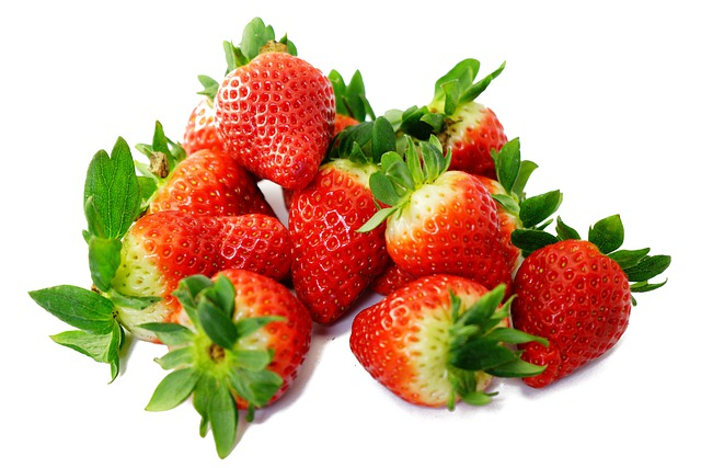 Strawberries, Sweet, Red, Delicious, Ripe, Fruity