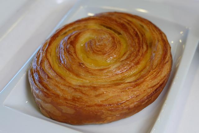 Food, Sweet, Pastry, Delicious, Breakfast, Cream Snail
