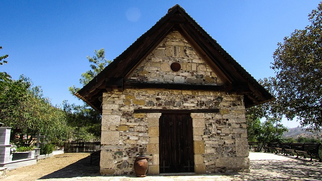 Cyprus, Delikipos, Church Of The Transfiguration