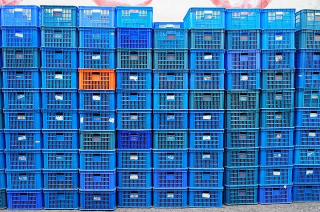 Basket, Delivery, Logistics, Warehouse