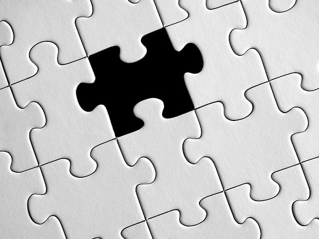 Puzzle, Missing Particles, The Last Piece, Demarcation