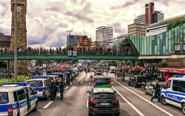 Demonstration, G20, Protest, Crowd, Demokratie