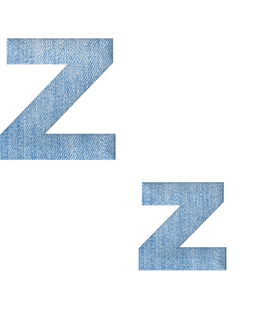 Fabric, 3d, Denim, Alphabet, Letter Z, Font, Text, Type