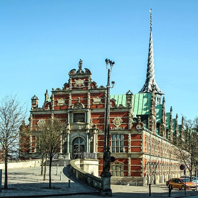 Stock Exchange, Copenhagen, Places Of Interest, Denmark