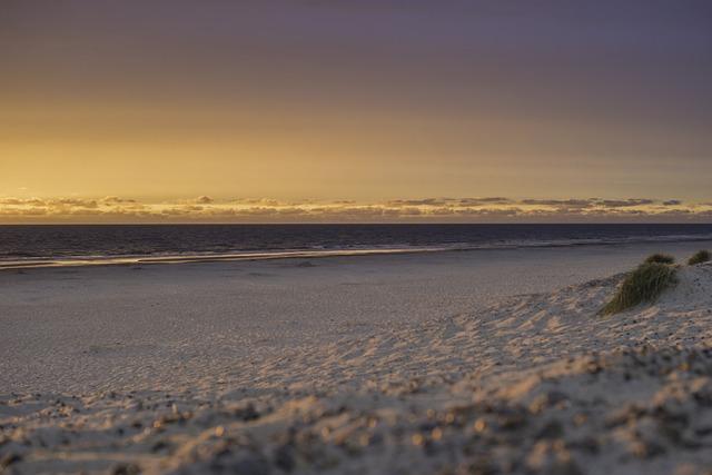 Denmark, Jutland, Danish Coast Landscape, Summer