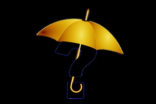 Question Mark, Umbrella, Resistance, Resistant, Deny