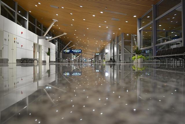 Airport, International, Travel, Departure