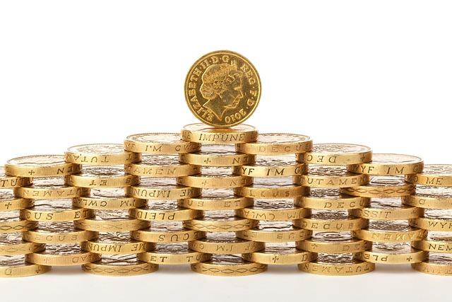 Bank, Business, Cash, Coin, British, Stack, Deposit