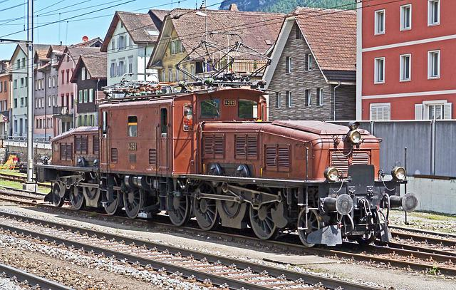 Sbb Historic, Crocodile, Switzerland, Depot Of Erstfeld