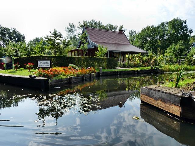 Spreewald, Depth, Water, Boot, Nature