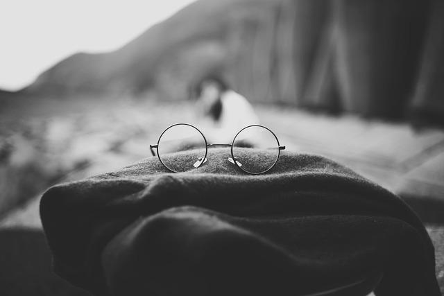 Depth Of Field, Eyeglasses, Scarf